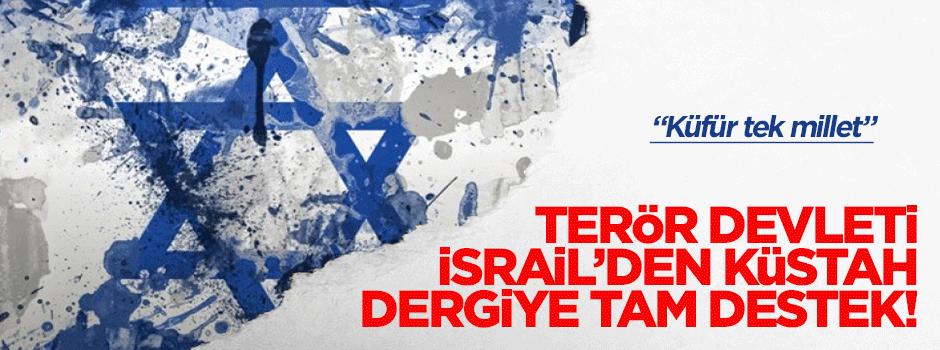 Terör Devleti İsrail'den Charlie Hebdo'ya destek