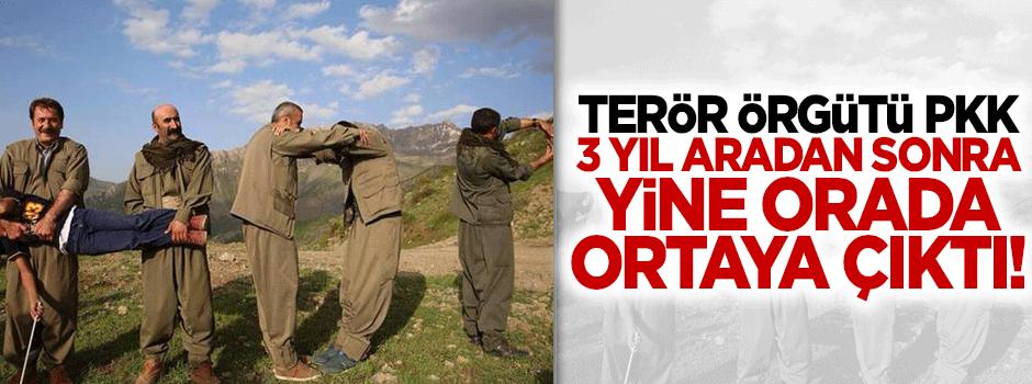 Terör örgütü PKK yeniden Amanoslar'da