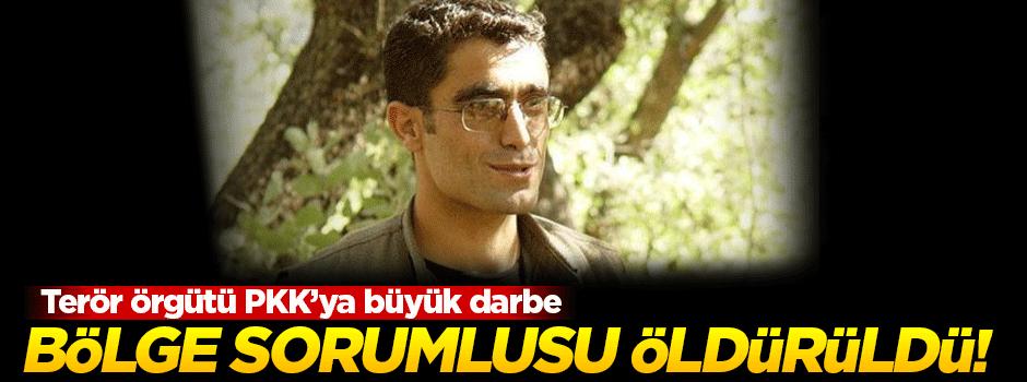 Terör örgütü PKK'nın bölge sorumlusu öldürüldü