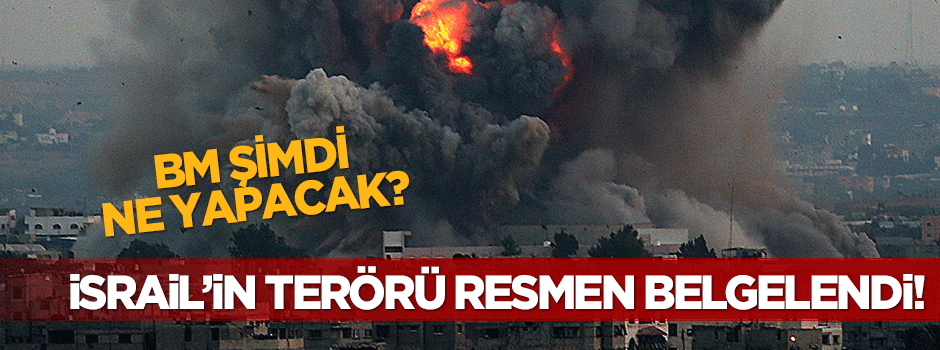 Terörist İsrail'in sivil katliamı belgelendi!