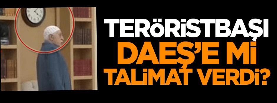 Teröristbaşı, DAEŞ'e mi talimat verdi?