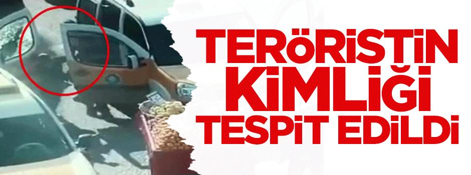 Teröristin kimliği tespit edildi