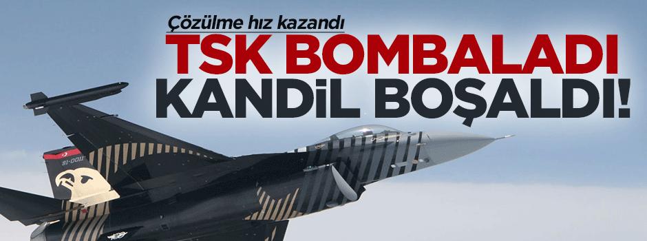 TSK bombaladı Kandil boşaldı
