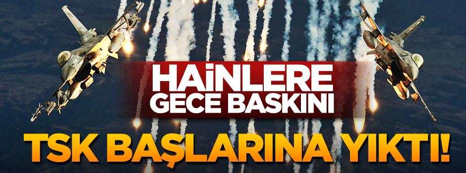 TSK Kandil'i bombaladı