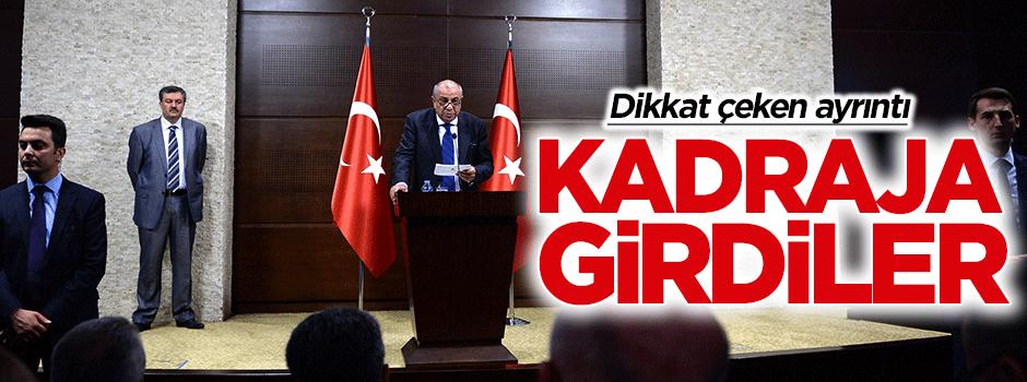 Tuğrul Türkeş'in basın toplantısında dikkat çeken ayrıntı