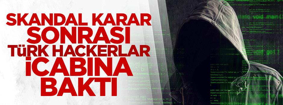 Skandal karar sonrası Türk hackerların hedefi oldu