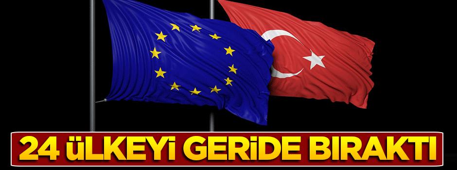 Türkiye, 24 AB ülkesini geride bıraktı!