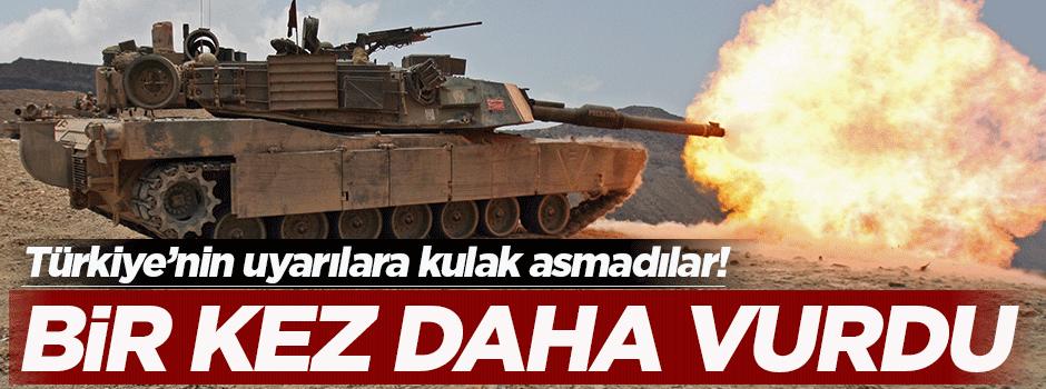 Türkiye bir kez daha vurdu