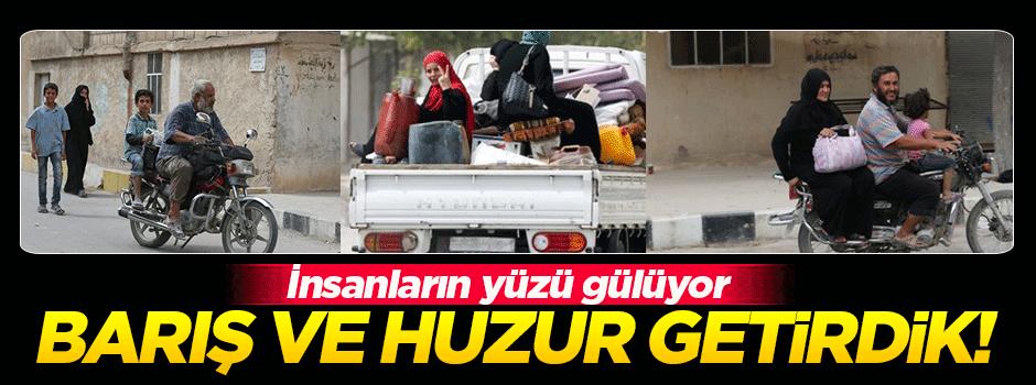 Türkiye, Cerablus'a 'barış ve huzur' getirdi