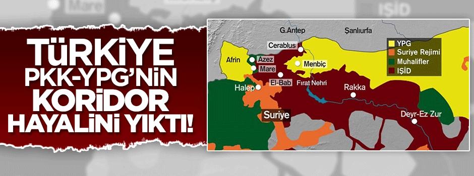 Türkiye PKK'nın Kuzey Suriye hayalini yıktı