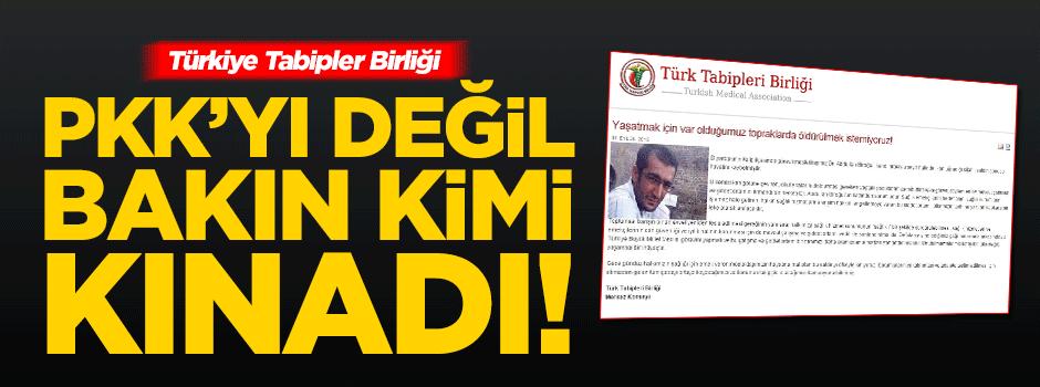 Türkiye Tabipler Birliği'nden skandal açıklama!