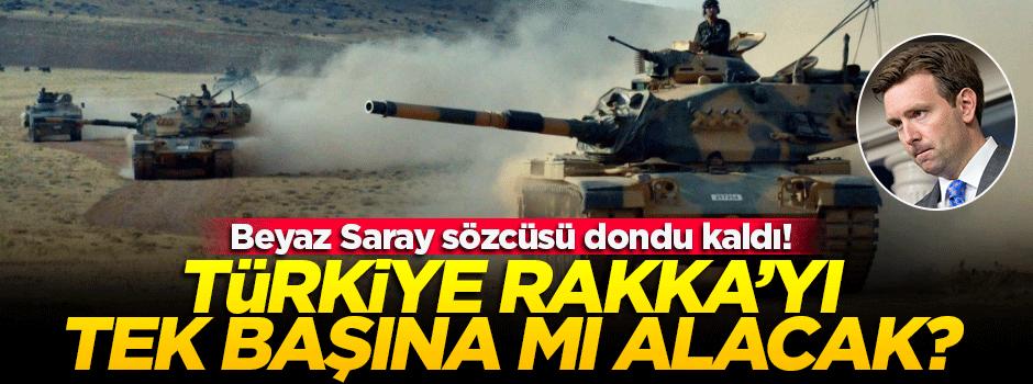 'Türkiye tek başına Rakka'yı almayı mı planlıyor?'