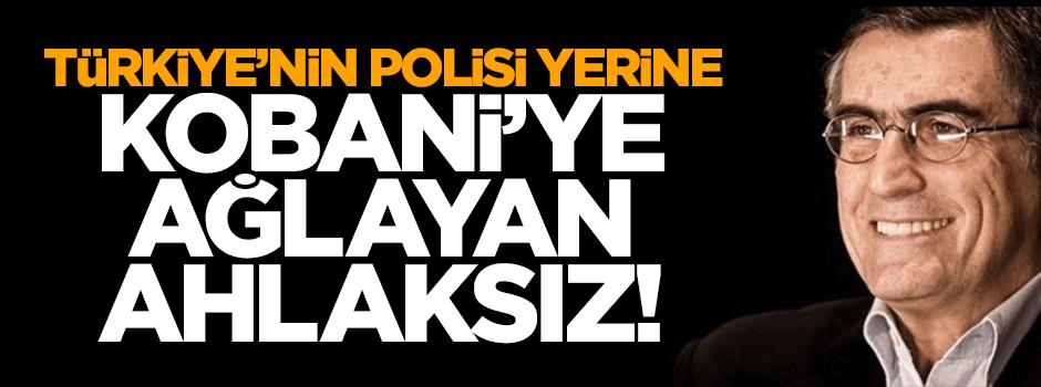 Türkiye'deki polisler yerine Kobani'ye ağlayan ahlaksız!