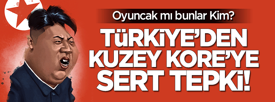 Türkiye'den Kuzey Kore'ye sert tepki!