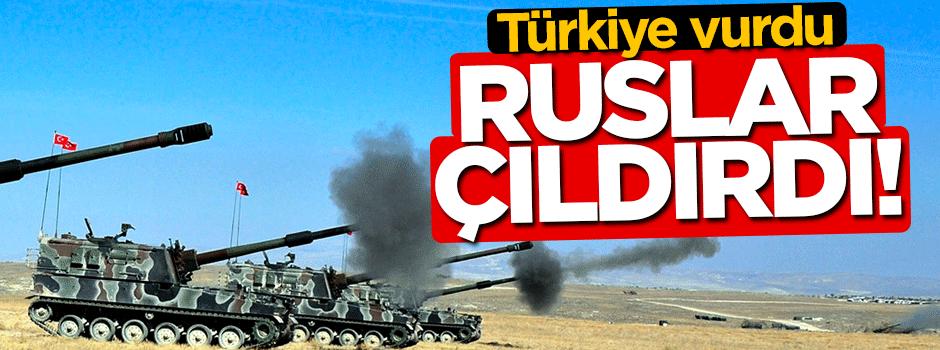 Türkiye vurunca Ruslar çıldırdı