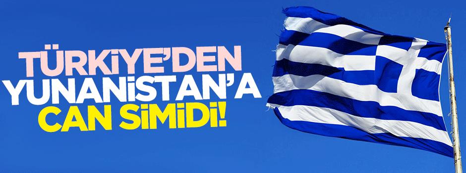 Türkiye'den Yunanistan'a can simidi!