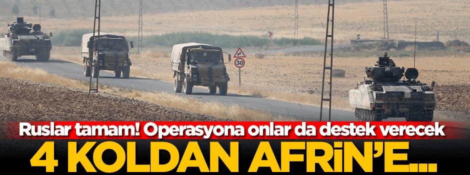 Türkiyənin Afrin planı müəyyən oldu!