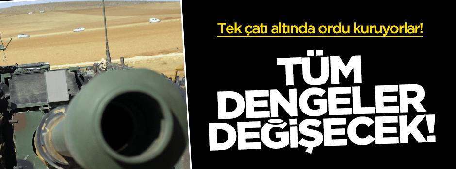 Türkmenler tek çatı altında ordu kuruyor!