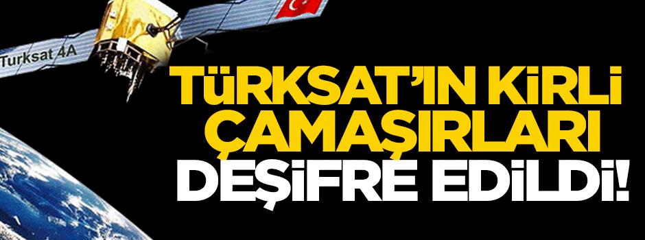 Türksat'ın kirli çamaşırları Akit TV'de deşifre edildi!