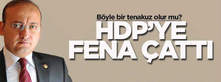 Yalçın Akdoğan'dan HDP'ye sert eleştiri