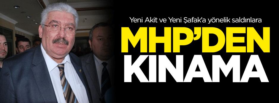 Yeni Akit ve Yeni Şafak'a yönelik saldırılara MHP'den kınama