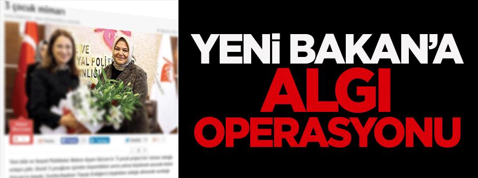 Yeni bakan Gürcan'a algı operasyonu