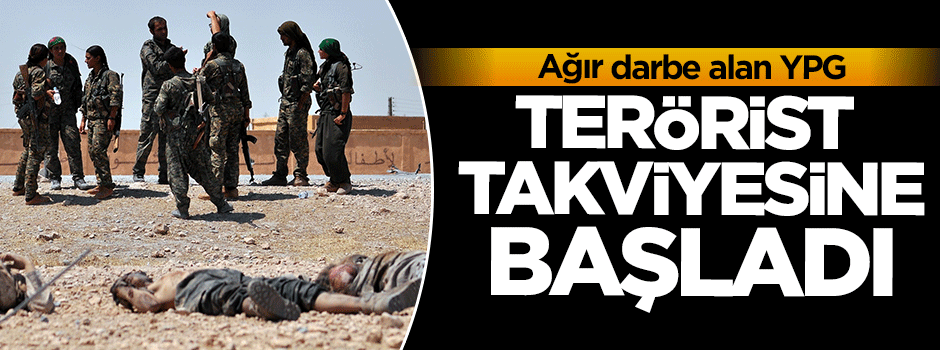 YPG silah ve terörist takviyesine başladı