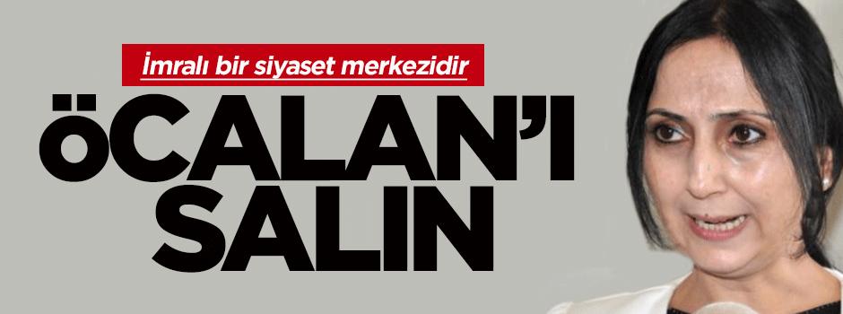 Yüksekdağ: Öcalan'ı serbest bırakın