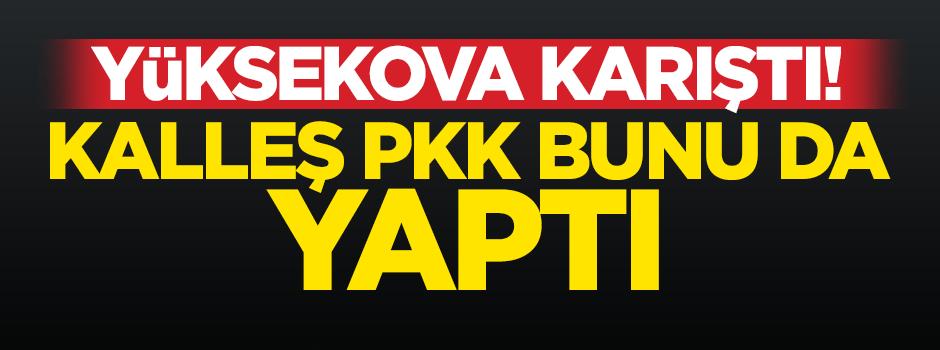 Yüksekova'da ortalık karıştı: 1 ölü!