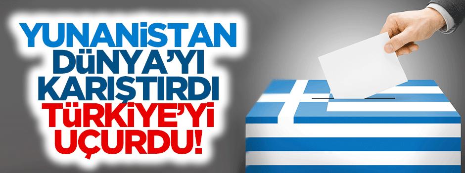 Yunanistan dünyayı karıştırdı, Türkiye'yi uçurdu!