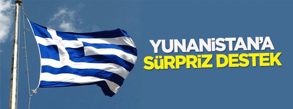 Yunanistan'a sürpriz destek
