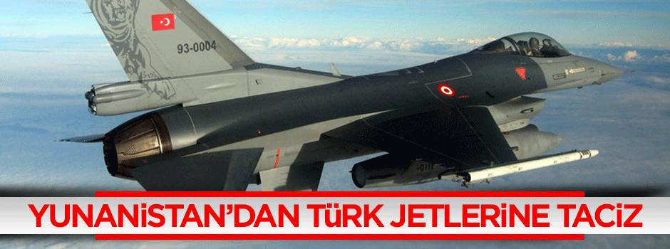 Yunanistan'dan Türk jetlerine taciz