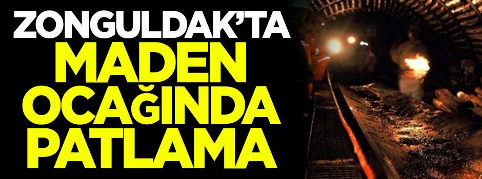Zonguldak'ta maden ocağında patlama!