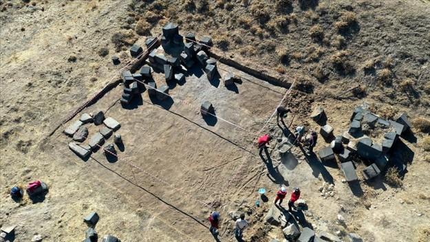 2300 rakımdaki Kef Kalesi'ndeki kazı çalışmaları tarihe ışık tutacak