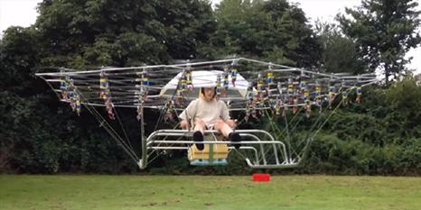 54 pernaveli drone yaptı