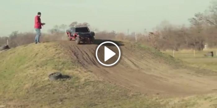 5500 dolarlık uzaktan kumandalı dev kamyon