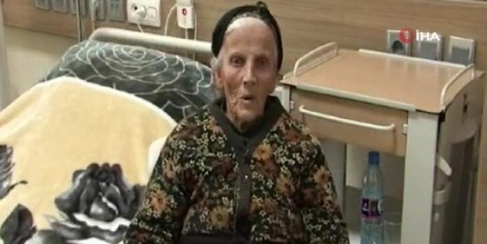 85 yaşındaki yaşlı kadını bırakarak kaçtılar... İşte Ermenistan'ın insanlığı