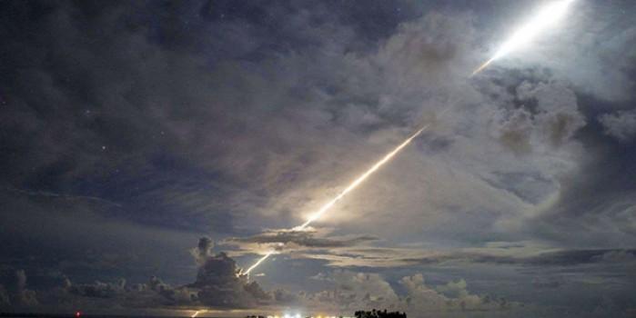ABD balistik füzeyi ateşledi