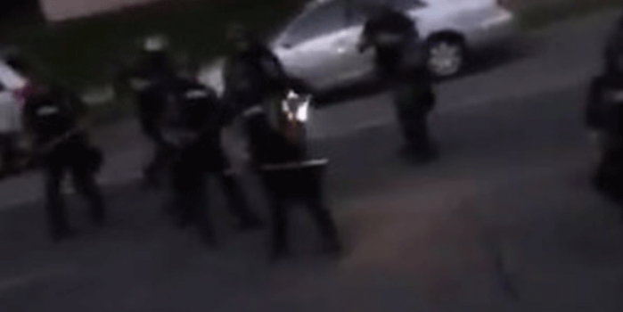 ABD'de polis ateş açtı! Korkudan 'Girinn Girinn Girinn' sesleri