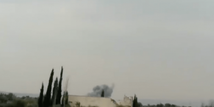 Abdullah Ağar paylaştı! Rus uçakları Suriye'yi böyle vurdu
