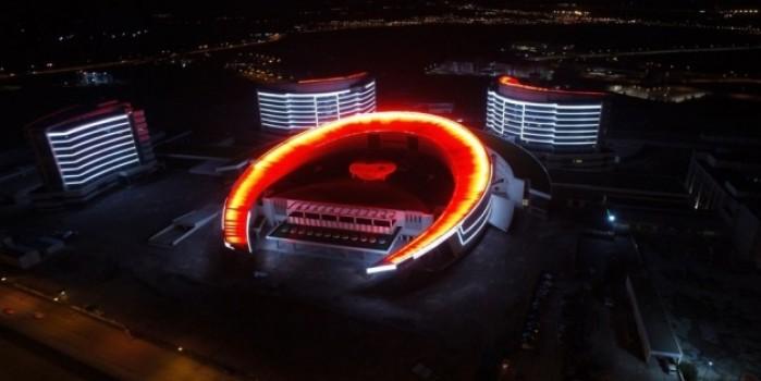 Açılışı henüz yapılmayan Erzurum Şehir Hastanesi korona virüs için teyakkuzda
