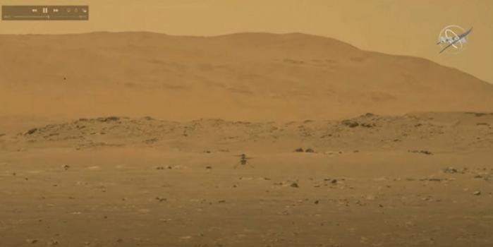 Ajanslar son dakika geçti! Mars'ta bir ilk gerçekleşti