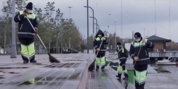 AK Partili Başkan Şadi Yazıcı'dan CHP'nin çöp yığınlarına esprili gönderme
