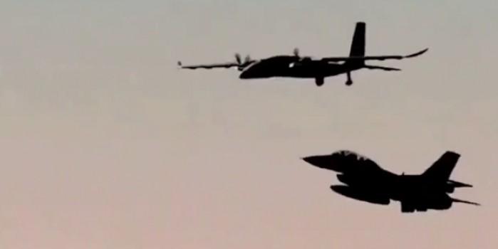 AKINCI TİHA ile F-16'dan muhteşem gösteri!