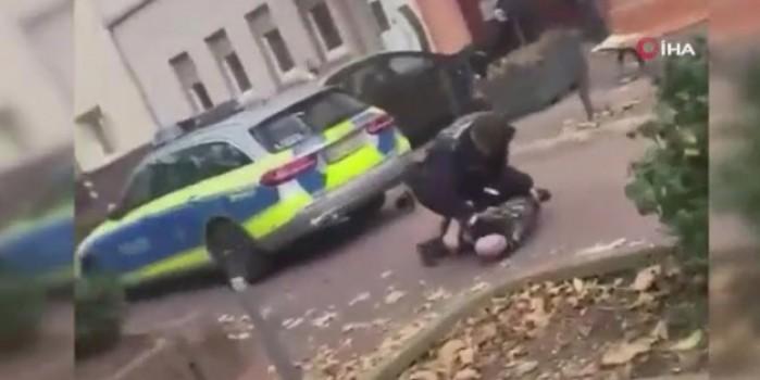 Alman polisi bu görüntüyle sosyal medyada gündem oldu!