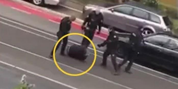 Alman polisi Türklere zulmetmeye devam ediyor