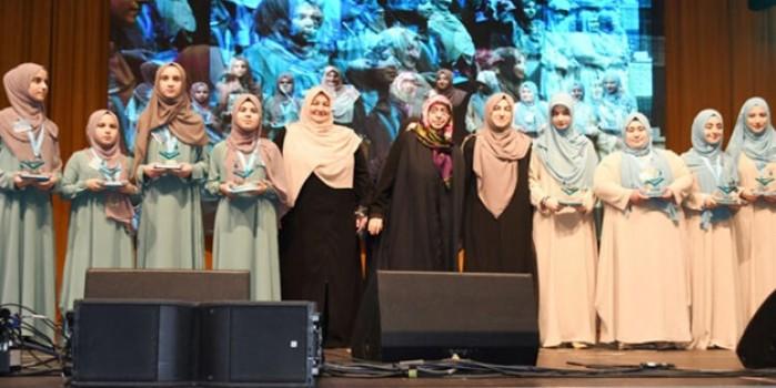 Almanya'da Kadınlararası Kur'an-ı Kerim Tilavet Yarışması düzenledi