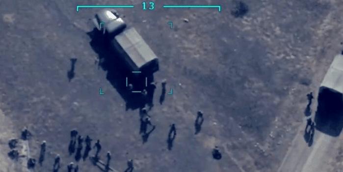 Anbean kaydedildi! Ermenistan askerleri böyle havaya uçuruldu