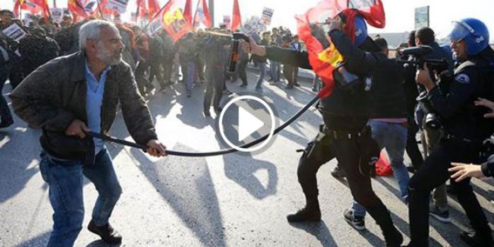 Ankara Garı'na çıkan yolları kapatıldı, müdahale başladı