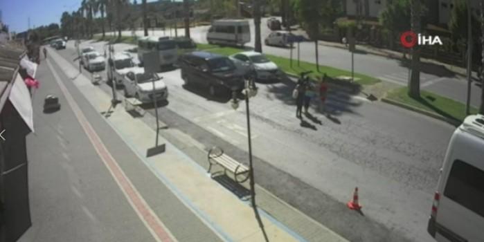 Antalya'da görülmemiş kaza!